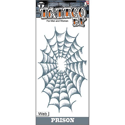Spider Web Tattoo Image #1