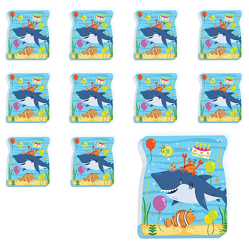 Under the Sea Birthday Notepads 48ct Image #1
