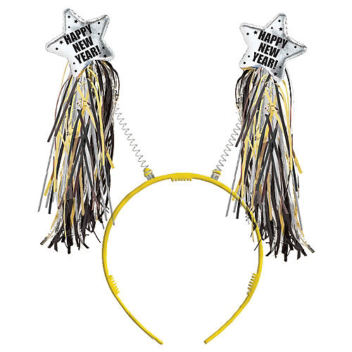 Black, Gold & Silver New Year's Head Bopper Image #1