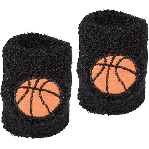 Basketball Sweat Bands 2ct Image #1