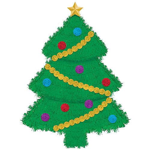 Tinsel Christmas Tree Image #1