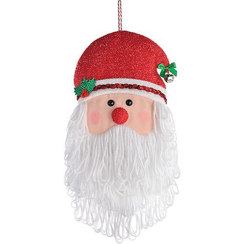 Santa Head Plush Image #1