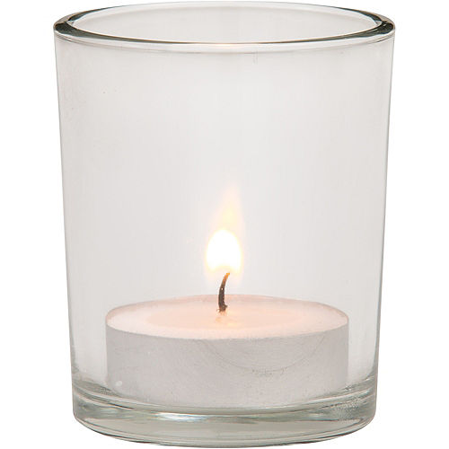 Clear Votive Candle Holders 6ct Image #2