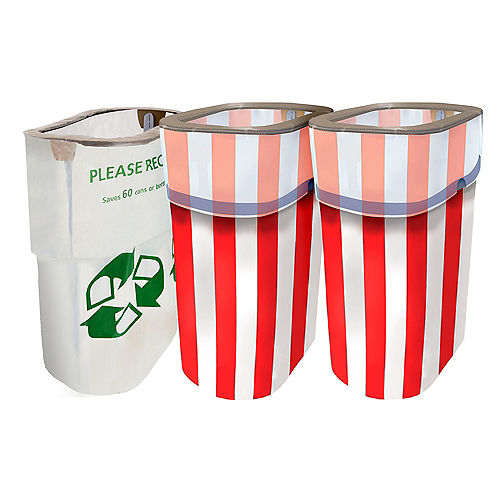 Patriotic Red, White & Blue Clean-Up Kit Image #1