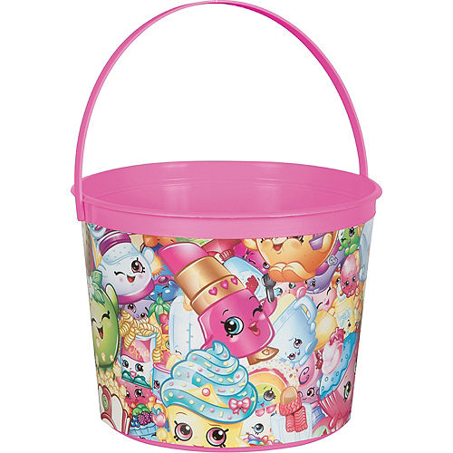 Pink Shopkins Favor Container Image #1