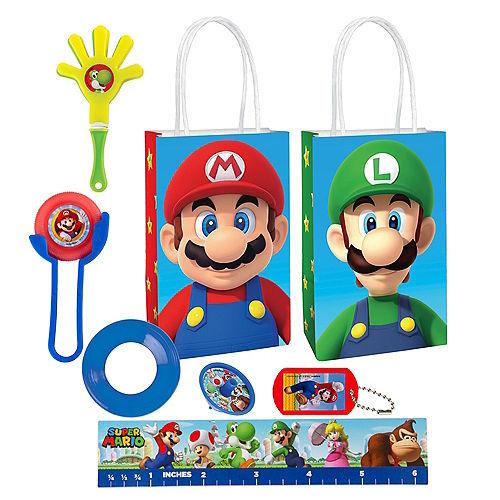 Super Mario Basic Favor Kit for 8 Guests Image #1