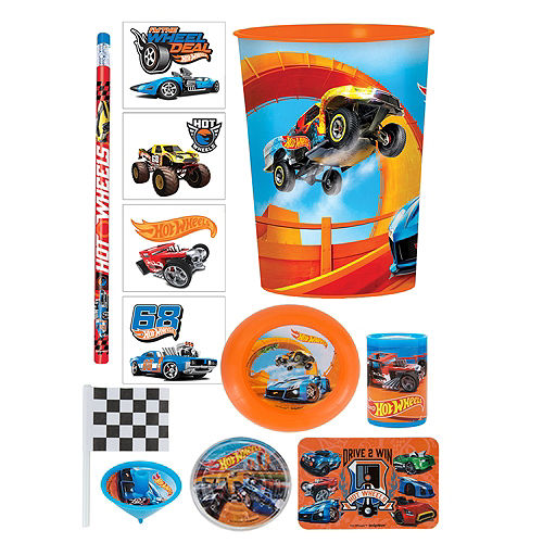 Hot Wheels Super Favor Kit for 8 Guests Image #1