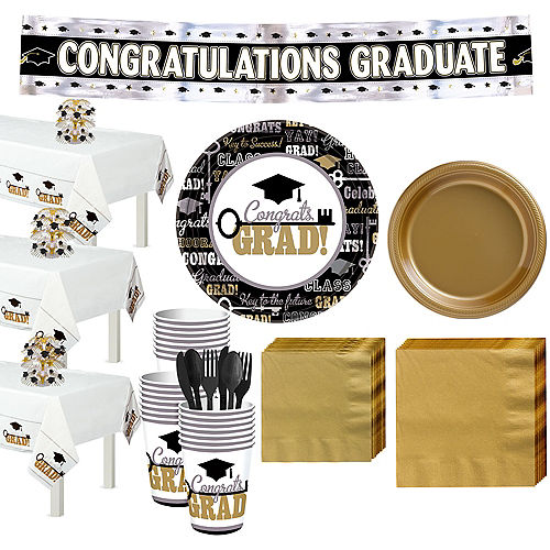 Key to Success Graduation Grand Tableware Kit Image #1