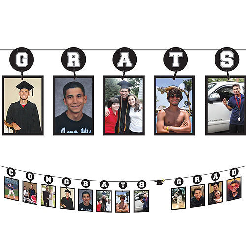 Blue Graduation Gift Table & Sign In Kit Image #2