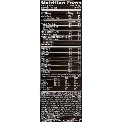 Rice Krispies Treats Mini Squares, 19ct Image #2