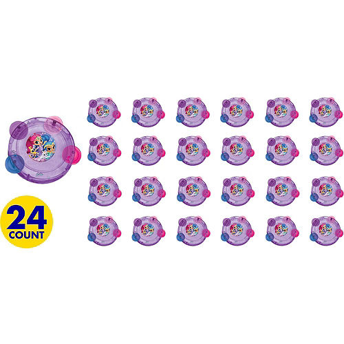 Shimmer and Shine Tambourines 24ct Image #2