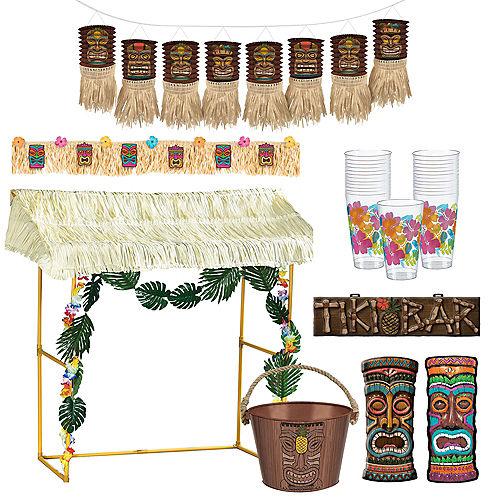 Tiki Bar Decorating Kit Image #1