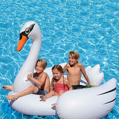 Giant Swan Pool Float Image #3