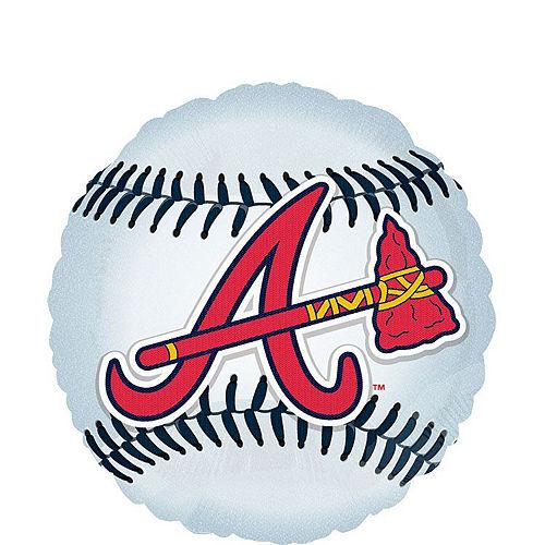 Atlanta Braves Balloon Kit Image #2