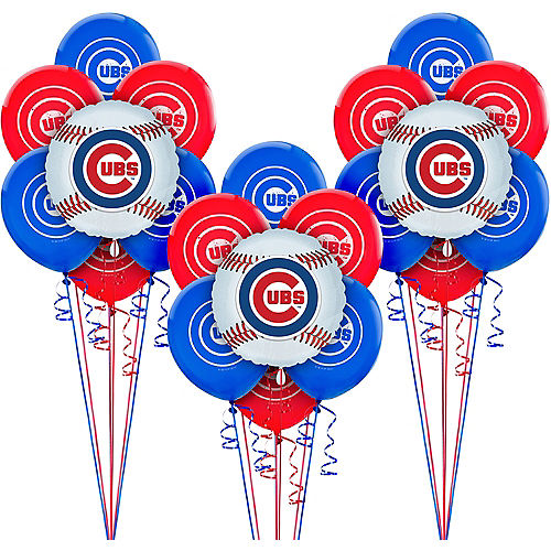 Chicago Cubs Balloon Kit Image #1