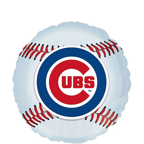 Chicago Cubs Balloon Kit Image #2