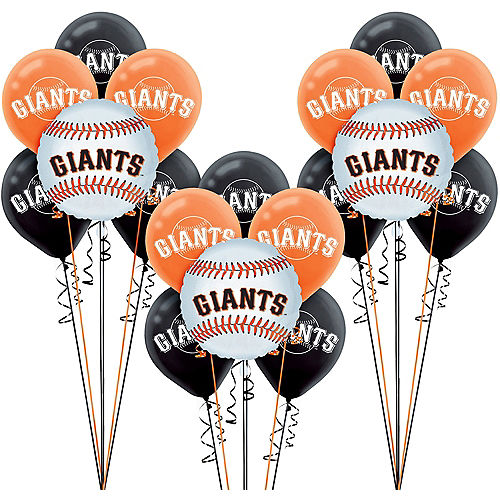 San Francisco Giants Balloon Kit Image #1
