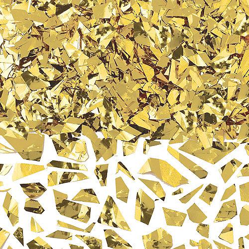 Gold Sparkle Confetti Image #1