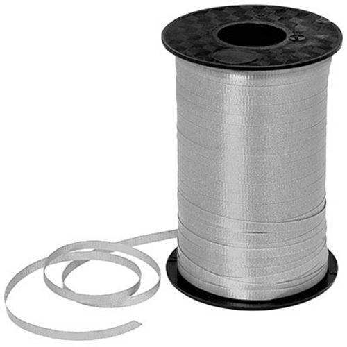 Silver Curling Ribbon Image #1