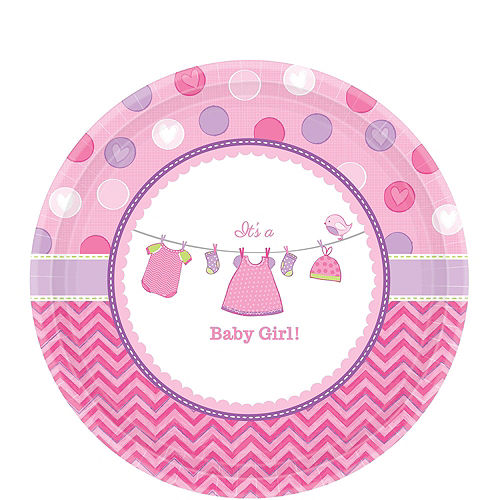 Girl Baby Shower Kit Shower With Love 16 guests Image #3