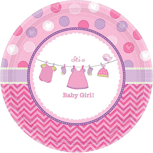 Girl Baby Shower Kit Shower With Love 16 guests Image #4