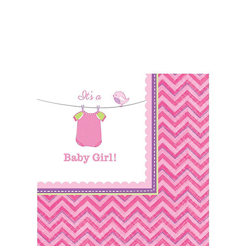 Girl Baby Shower Kit Shower With Love 16 guests Image #5