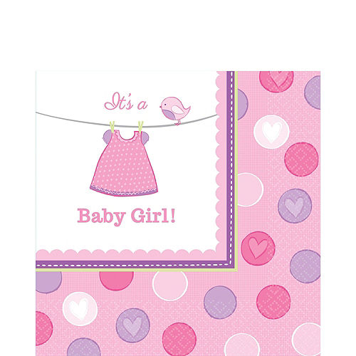 Girl Baby Shower Kit Shower With Love 16 guests Image #6