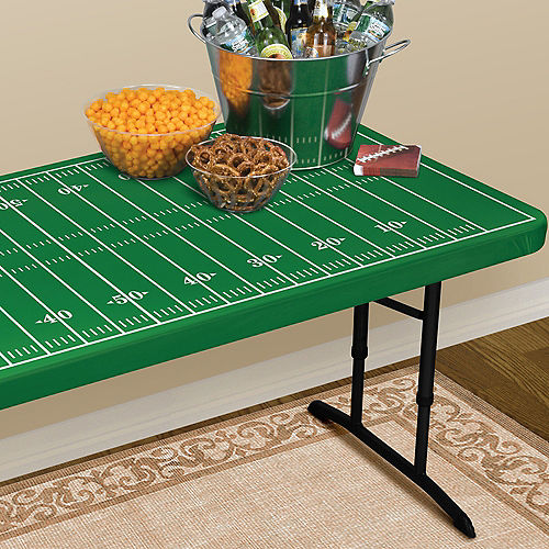 Fitted Football Field Table Cover Image #2