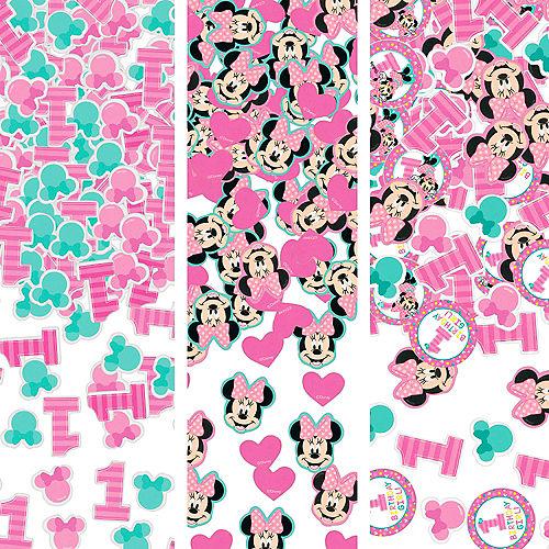 1st Birthday Minnie Mouse Confetti Image #1