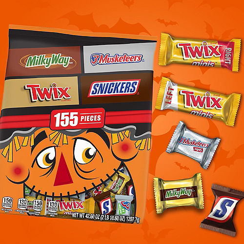 Mars Chocolate Favorites Halloween Minis Mix, 155pc Image #2