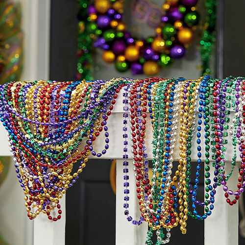 Mardi Gras Bead Necklaces 720ct Image #3
