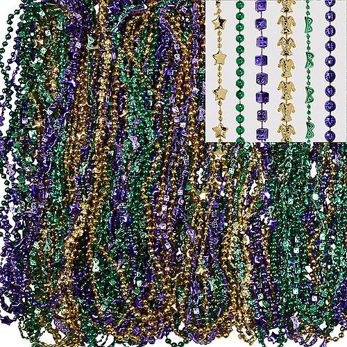 Mardi Gras Bead Necklaces 576ct Image #1