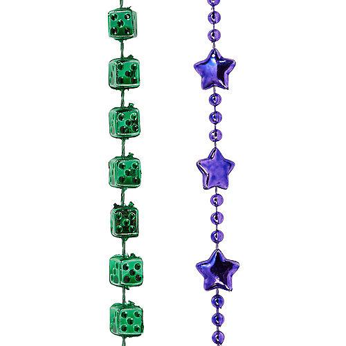Mardi Gras Bead Necklaces 576ct Image #4