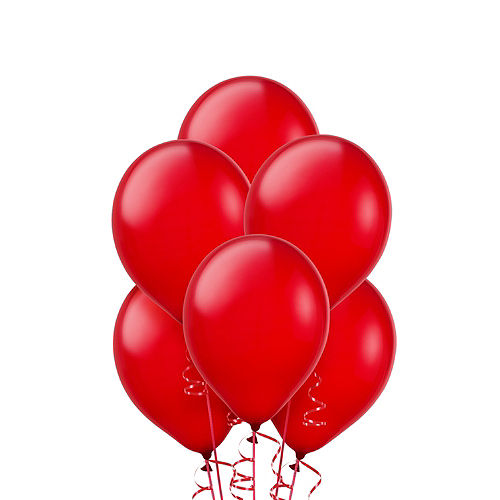 Red Balloons 20ct, 9in Image #1