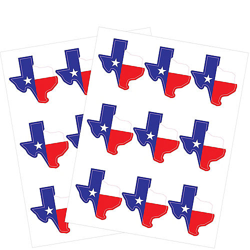 Texas Stickers 2 Sheets Image #1