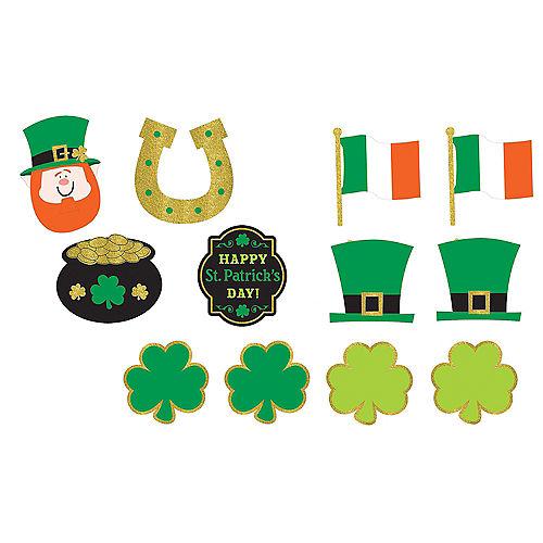 St. Patrick's Day Cutouts 12ct Image #1
