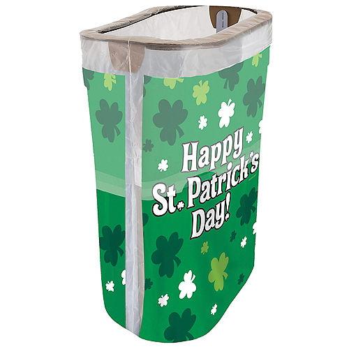 St. Patrick's Day Pop-Up Trash Bin Image #1