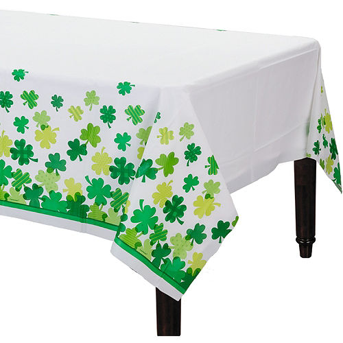 Blooming Shamrock Table Cover Image #1