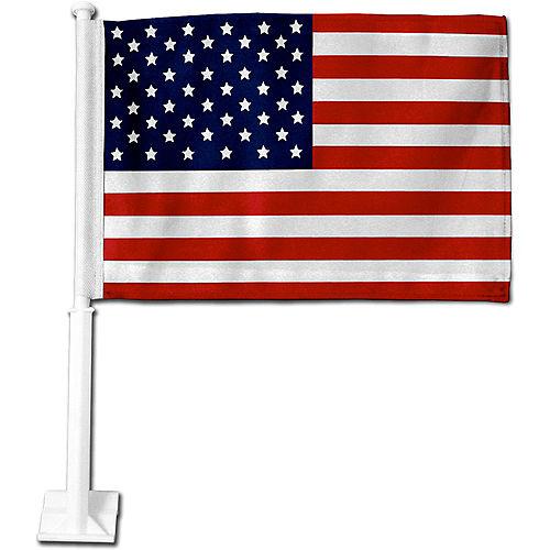 American Flag Car Flag Image #1