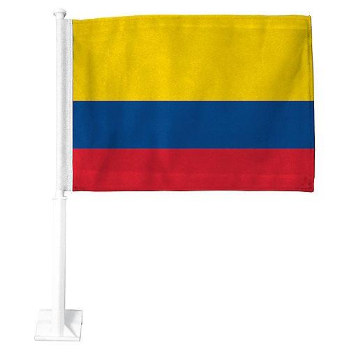 Colombian Flag Car Flag Image #1