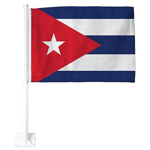 Cuban Flag Car Flag Image #1