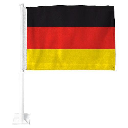 German Flag Car Flag Image #1