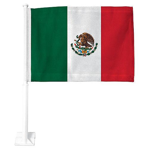 Mexican Flag Car Flag Image #1