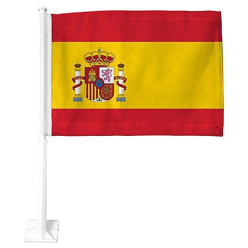 Spanish Flag Car Flag Image #1