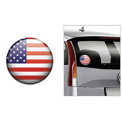 American Flag Decal Image #1