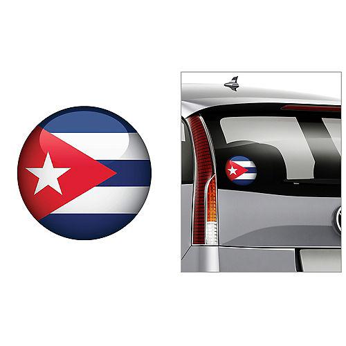 Cuban Flag Decal Image #1
