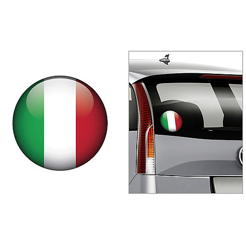 Italian Flag Decal Image #1
