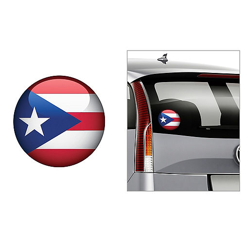 Puerto Rican Flag Decal Image #1
