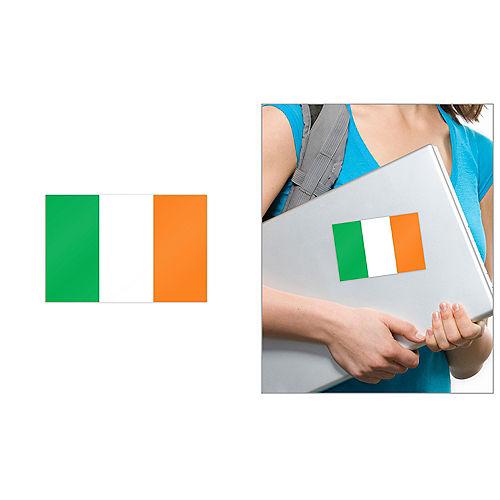 Irish Flag Cling Decal Image #1