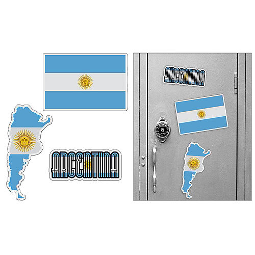 Argentinian Magnets 3pc Image #1